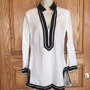 Venus BOHO Cotton Tunic Top Size Small